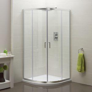Aqua 1000mm Quadrant Shower Enclosure